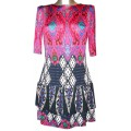 Летнее платье из тонкого масляного трикотажа