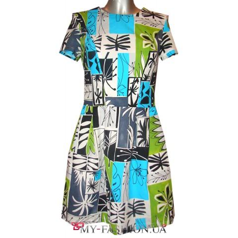 Красивое платье из летней коллекции