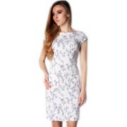 Летнее платье из стрейчевого льна