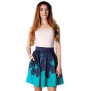 Пышная юбка из стрейч-хлопка