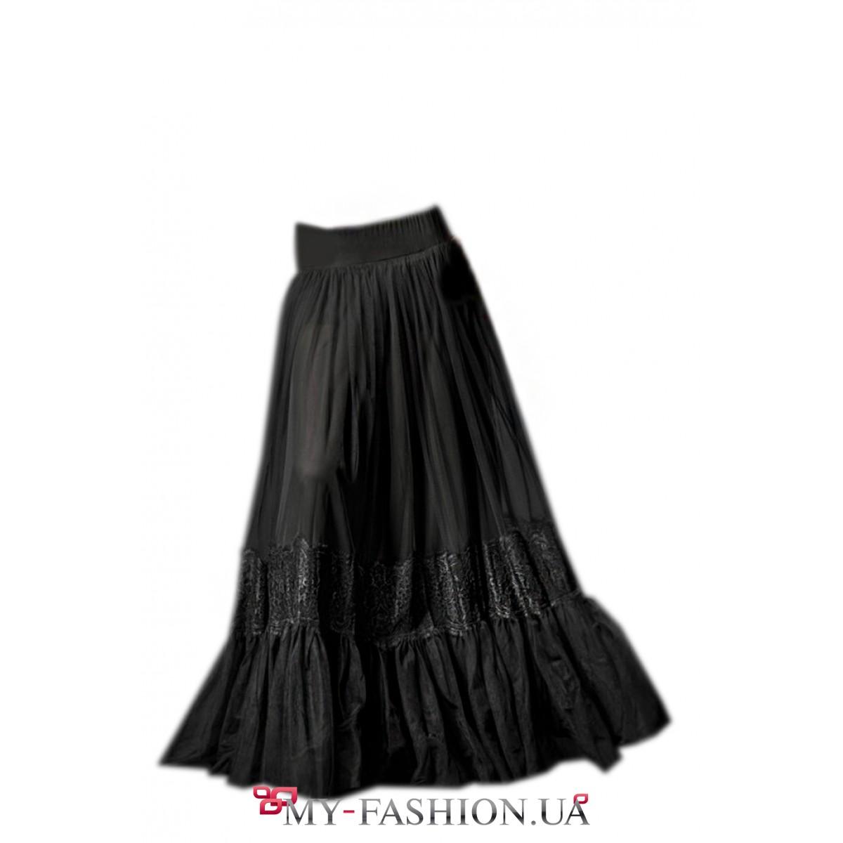 Интернет магазин черная длинная юбка