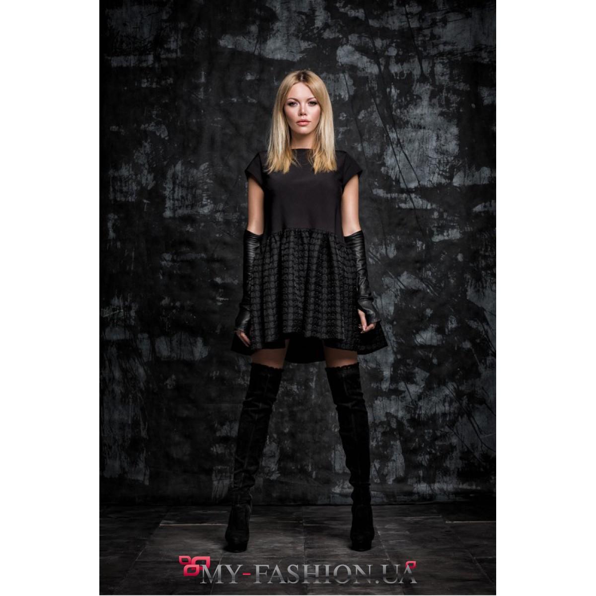 73075206d37d424 Восхитительное коктейльное платье черного цвета · Восхитительное  коктейльное платье черного цвета ...
