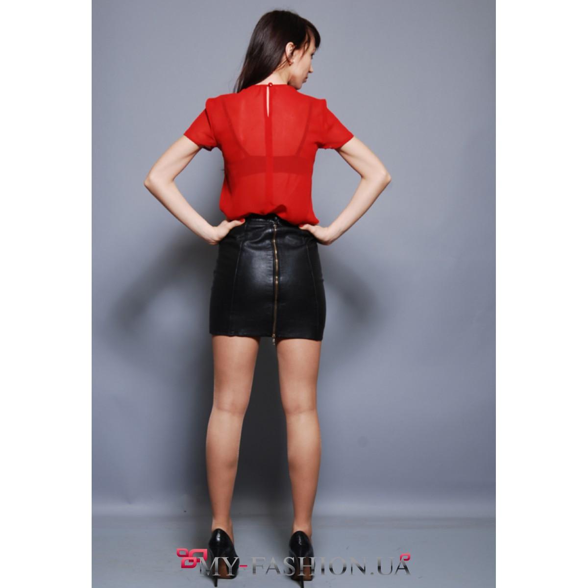 Женская Блузка С Жабо Купить