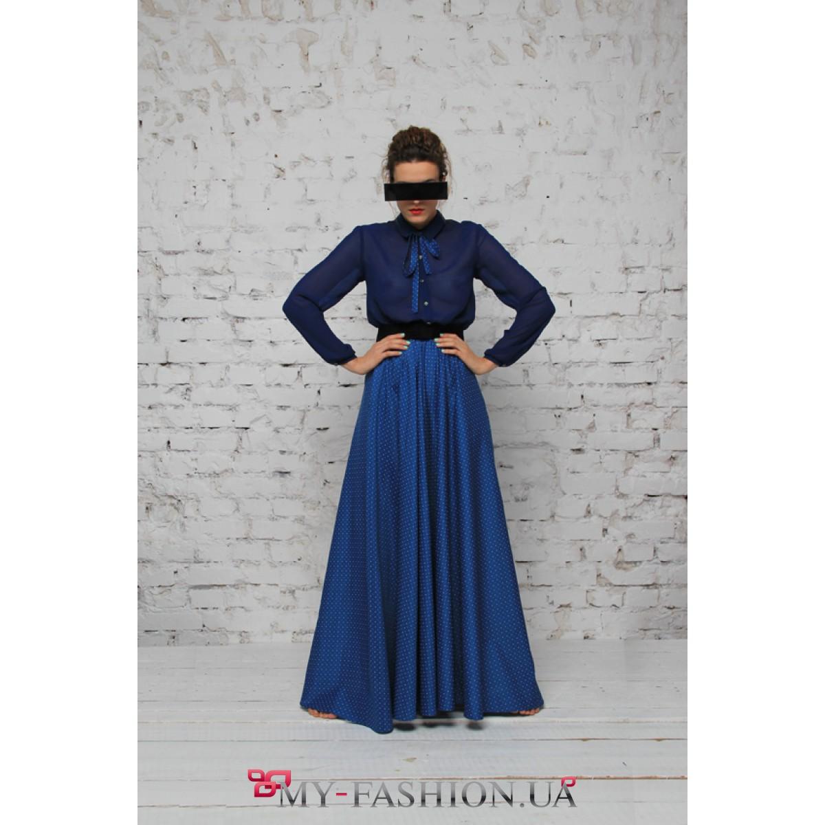 Платье двухцветное доставка