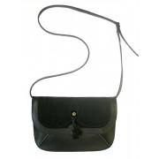 Женская сумка из кожи и замши