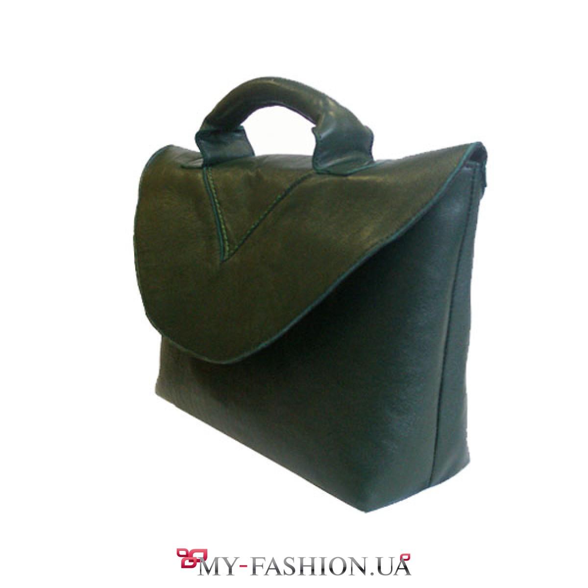 В чем заключаются особенности мужских сумок из грубой кожи?