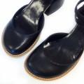 Стильные босоножки с закрытой носочной частью