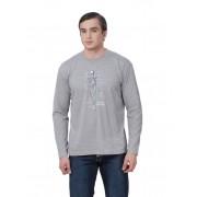 Мужской свитер с принтом скелета русалки
