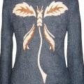 Зимняя куртка из шерстяного полотна