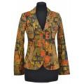 Эксклюзивная женская куртка на кнопках