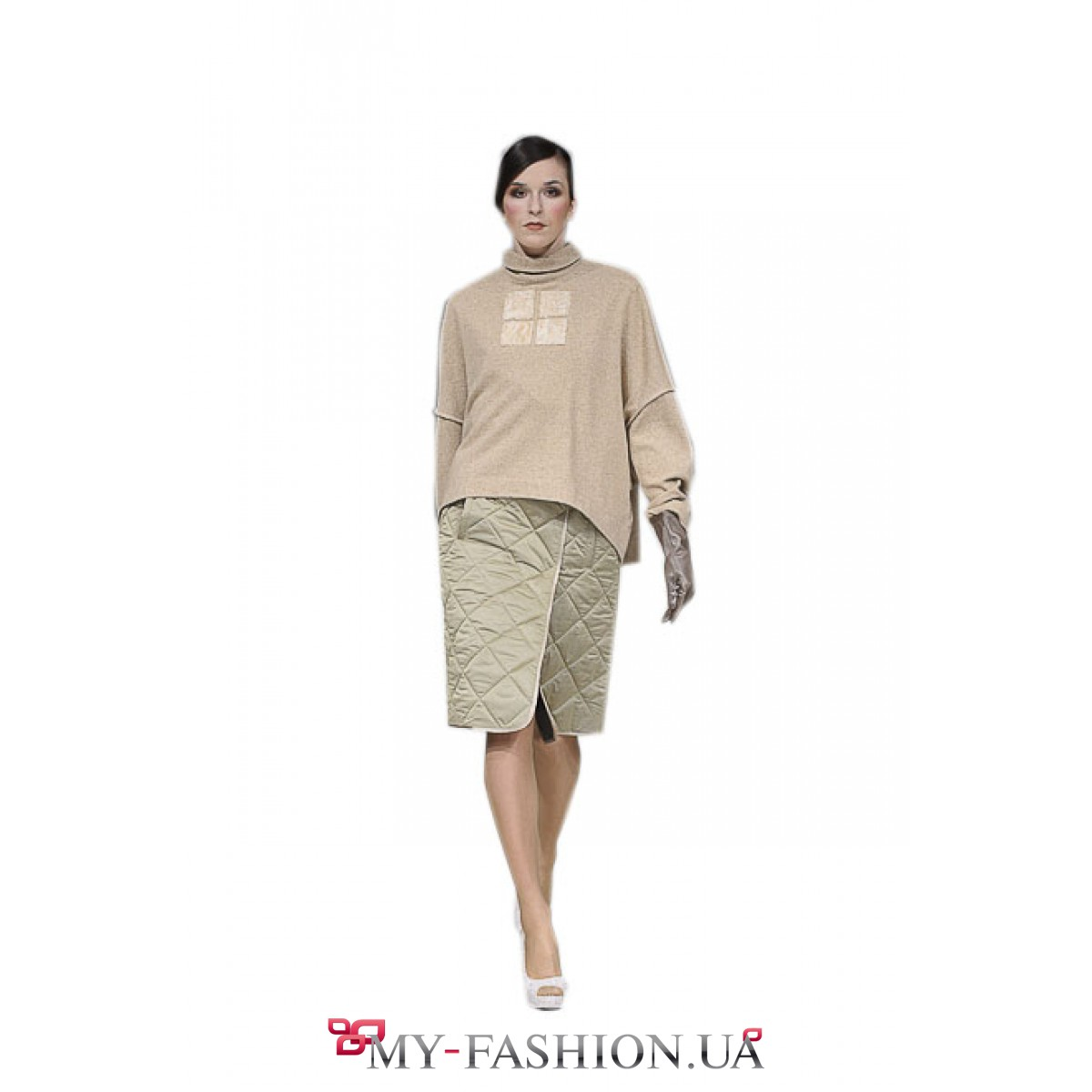 Бежевая юбка с доставкой