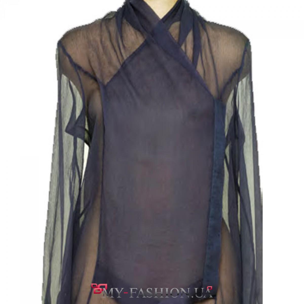 Купить шелковую женскую блузку в интернет магазине
