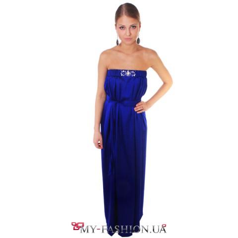 Вечернее платье недорого натуральный шелк