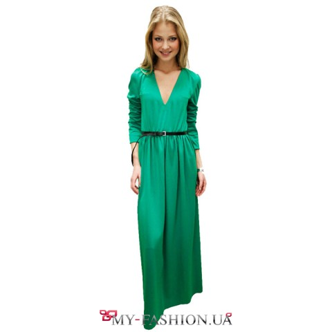 Зеленое платье Жуковская Алена