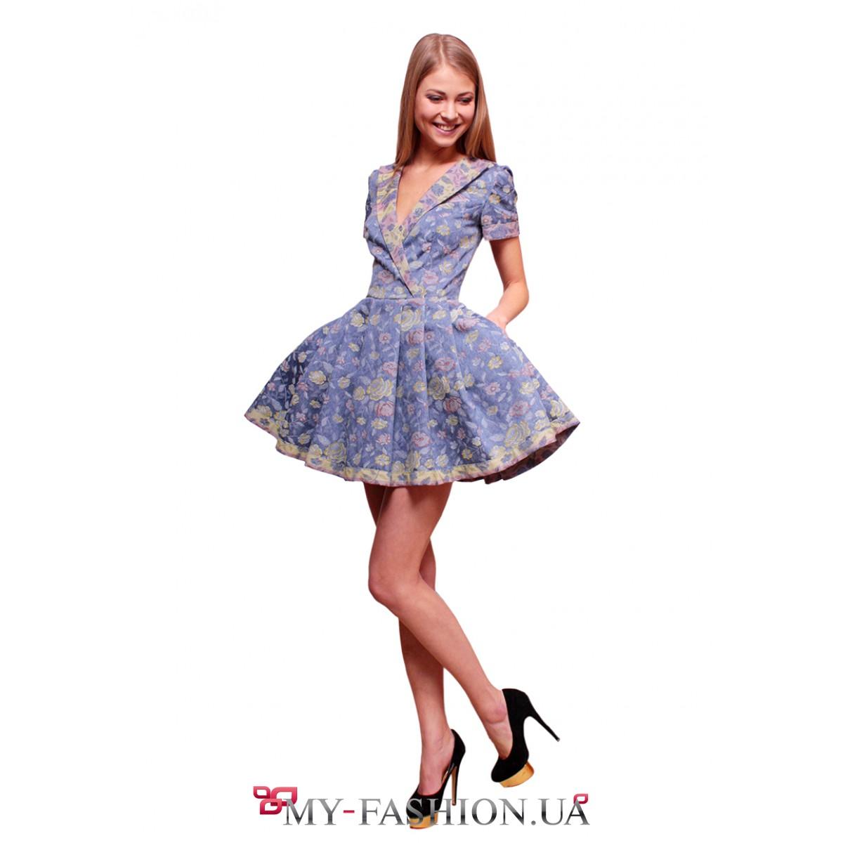 Фото платьев с короткой пышной юбкой