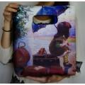 Яркая удобная и вместительная сумка молодёжного стиля