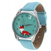 Наручные часы с изображением лисёнка