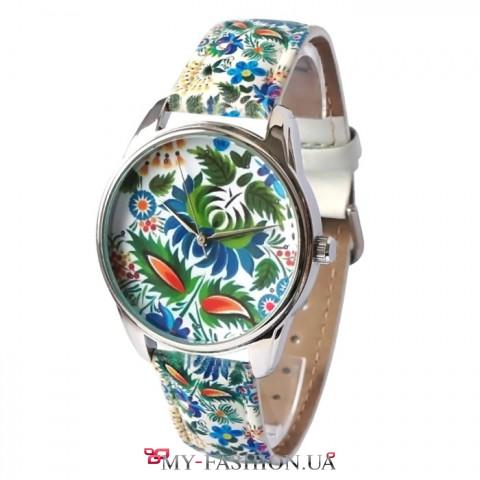 Наручные часы с принтом украинской тематики